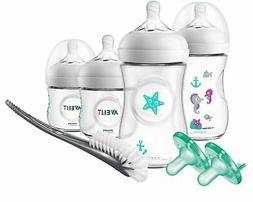 Philips Avent Natural Baby Bottle Gift Set Seahorse Design,