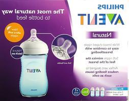 Philips Avent Natural 9oz 3-pack Bottle Set SCF693/39 - Blue