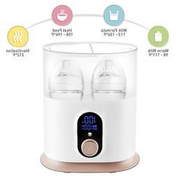 Babebay Baby Bottle Warmer, Deluxe Bottle Sterilizer & Smart