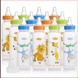 Evenflo Feeding Bottles For Baby Zoo Natural Polypropylene 8