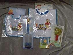 Disney Baby Boy WinneThe Pooh Bibs Pacifier Bottles Brush Co