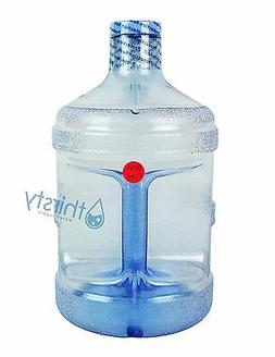 BPA FREE 1 Gallon Reusable Plastic Water Bottle Jug Containe
