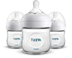 Philips Avent BPA Free Natural Anti-Colic 4oz Baby Bottle -