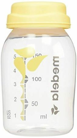 Medela Breast Milk Collection and Storage Bottles, 6 Pack, 5