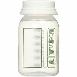 Ameda Breast Milk Storage Bottles Includes  4oz. With 2-Piec