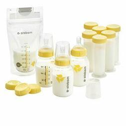 Breastfeeding Gift Set, Breast Milk Storage System;Bottles,