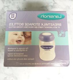 Lansinoh Breastmilk storage 4 bottles 5 oz BPA free Freezer