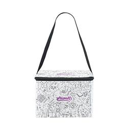 ALAZA Chemistry Science Insulated Lunch Bag Box Cooler Bag R