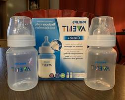 Philips Avent Classic Baby Bottle, Clear, 9oz, 2pk, SCF683/2