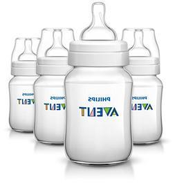 Philips AVENT Classic Plus BPA Free Polypropylene Bottles, 9