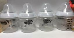 Tommee Tippee Closer to Nature 150ml 5oz Bottles x 4 USED