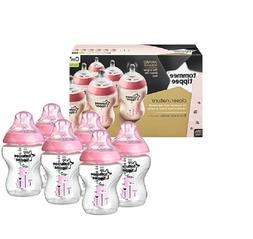 Tommee Tippee Closer to Nature Easivent 260ml Bottles - Deco