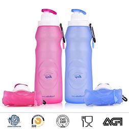 Baiji Bottle Collapsible Silicone Water Bottles - Sports Cam