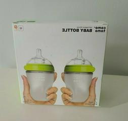 Como tomo Baby Bottles, Slow Flow, Green, 5oz 2 Pack Free Sh