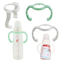 3 PCS Baby Bottle Handle Grip, Baby Feeding Transition Sippy