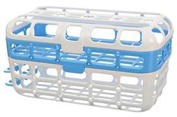 Munchkin High Capacity Dishwasher Basket, Blue