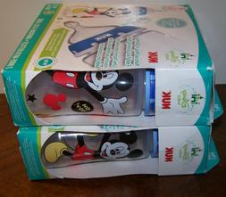 NUK Disney Baby TWO! 3-PK 10oz Wide Neck 6 Bottles Mickey Mo