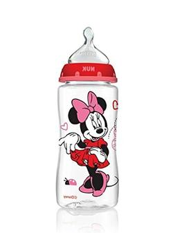 NUK Disney Minnie Mouse Orthodontic Bottle with Silicone Nip