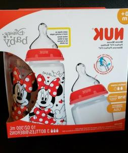 NUK Disney Perfect Fit Bottle Minnie Mouse  Anti Colic Air V