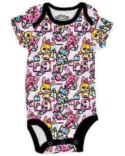 Harebrained Drinking Problem OnePiece Romper Baby Cute Milk