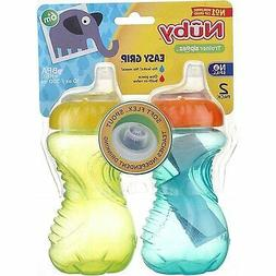 Nuby Easy Grip No Spill Sipper Soft Spout - Girl - 10 oz - 2