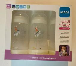 MAM Easy Start Anti-Colic Bottle - 3 x 160ml Bottles - 0+Mon