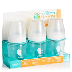Evenflo Balance Plus 3-Pack Wide Neck Bottles - white, one s