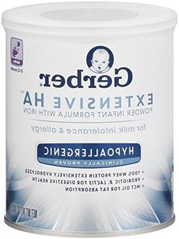 Gerber Extensive HA Hypoallergenic Powder Infant Formula wit