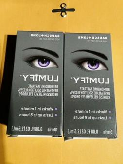 Lumify Eye Drops 2.5ML By Bausch & Lomb-Brand New In Box & S