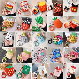 Favorite Cute Cartoon Silicone Airpods Case Cover For Apple