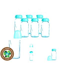 Evenflo Feeding Glass Premium Proflo Vented Plus Bottles for