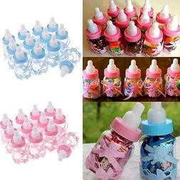 Fillable Bottles for Baby Shower-Favors-Blue Pink Party Deco