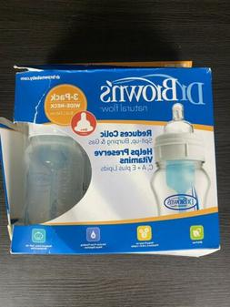 Dr. Brown's Natural Flow Complete Bottle Feeding System, Wid