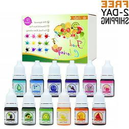 Food Coloring Set For Baking Decorating Icing And Cooking 25