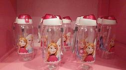 Disney Frozen Anna & Elsa 10oz Water Bottle with flip top li