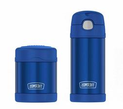 THERMOS FUNTAINER LUNCH SET 12oz Water Bottle & 10oz Food Ja