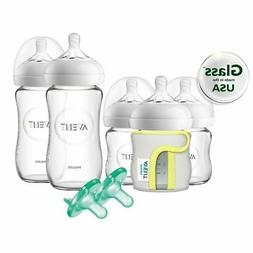 Philips Avent Natural Glass Baby Bottle Newborn Starter Set,