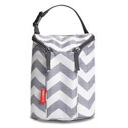 Skip Hop Insulated Breastmilk Cooler And Baby Bottle Bag, Gr