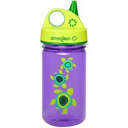 Nalgene Grip 'n Gulp Sea Turtles Bottle, Purple