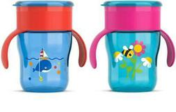 Avent - Grown Up Cup 9 MONTH 260ml PICK COLOUR Sippy Bottle