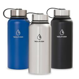 H2O Flask Insulated Stainless Steel Wide Mouth Water Bottle