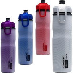 Blender Bottle Halex 24 oz. Insulated Squeeze Bike Water Bot