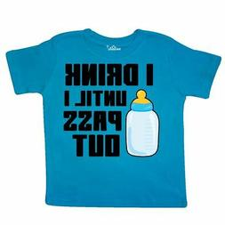 Inktastic I Drink Until I Pass Out Toddler T-Shirt Baby Funn