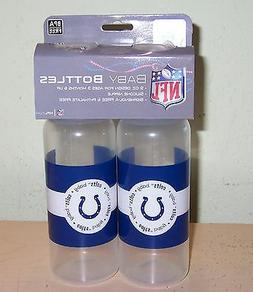 Indianapolis Colts Baby Bottles - 2pk