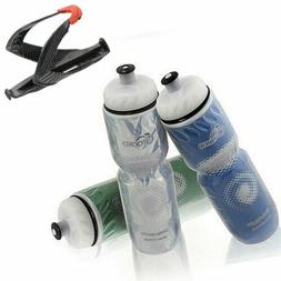 Insulated Water Bottle Bicycle Cycling Water Cup Kettle with
