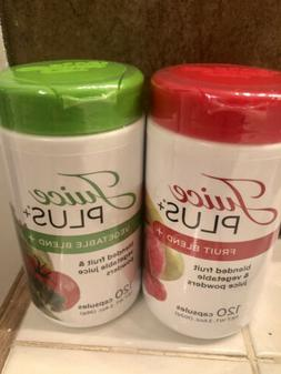 JUICE PLUS FRUIT and VEGETABLE. 2 Bottles 2 Month Supply.
