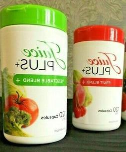 JUICE PLUS FRUIT and VEGETABLE. 2 Bottles 2 Month Supply. Ex