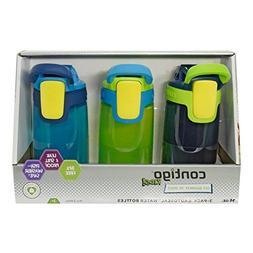 Contigo Kids Autoseal Gizmo Water Bottles, 14oz
