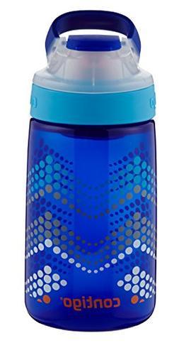 Contigo 14 oz. Kids Gizmo Autoseal Water Bottle - Sapphire B