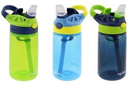 Contigo KIDS Gizmo AutoSpout Water Bottles 3 Pack 14 oz Each